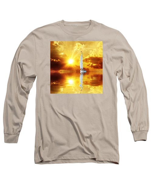 Summer Sun And Fun Long Sleeve T-Shirt by Gabriella Weninger - David