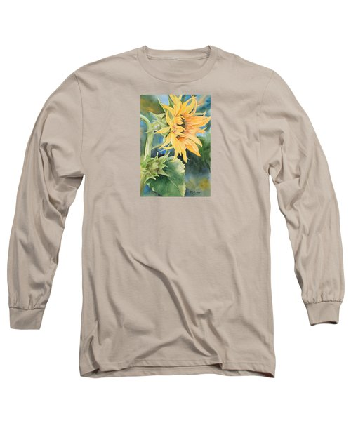 Summer Sunflower Long Sleeve T-Shirt