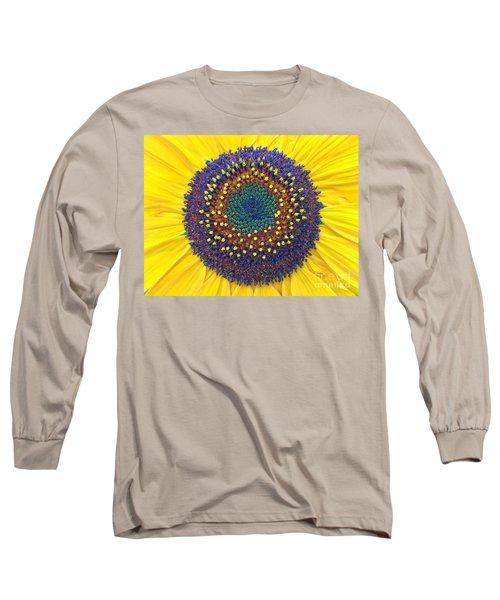 Summer Sunflower Long Sleeve T-Shirt