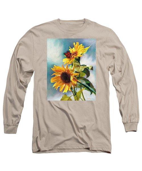 Summer Long Sleeve T-Shirt by Svitozar Nenyuk