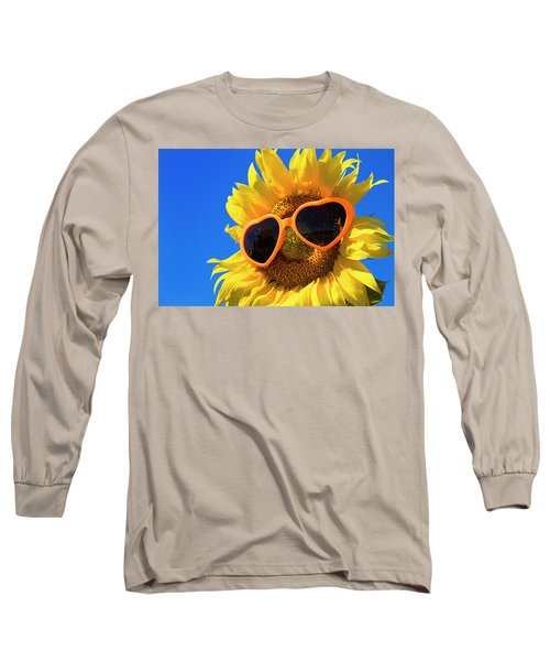 Summertime Long Sleeve T-Shirt by Teri Virbickis
