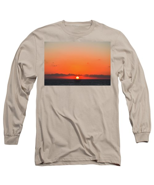 Sun Balancing On The Horizon Long Sleeve T-Shirt