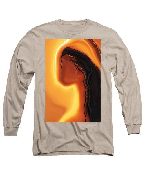 Sun-kissed Long Sleeve T-Shirt by Rabi Khan