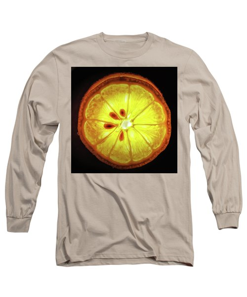 Sun Lemon Long Sleeve T-Shirt