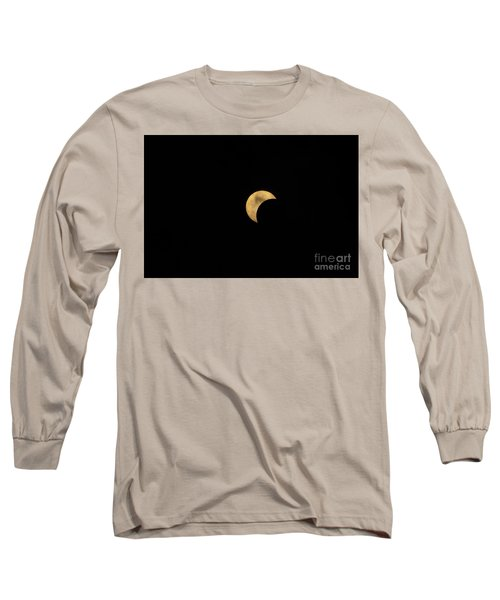 Sun Moon Clouds Long Sleeve T-Shirt