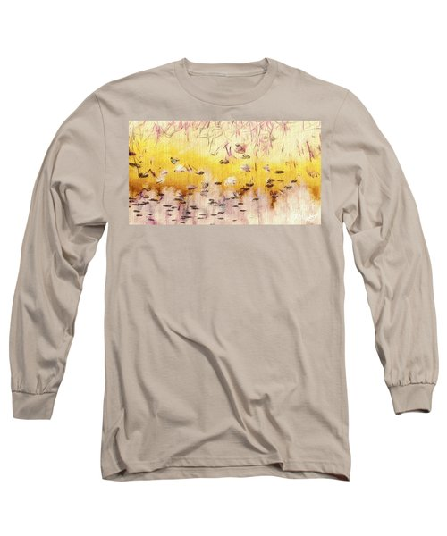 Sun Shower Long Sleeve T-Shirt by William Wyckoff