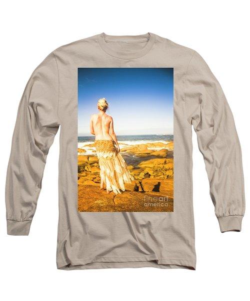 Sunbathing By The Sea Long Sleeve T-Shirt