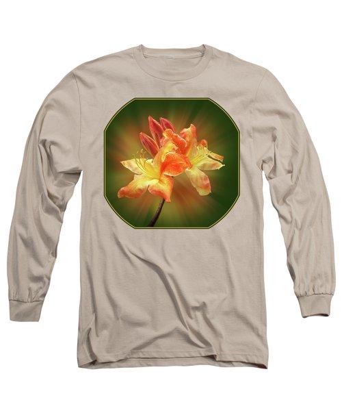 Sunburst Orange Azalea Long Sleeve T-Shirt