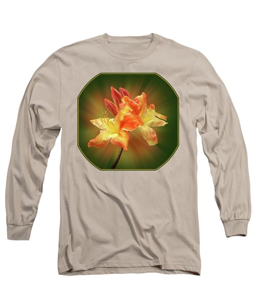 Sunburst Orange Azalea Long Sleeve T-Shirt
