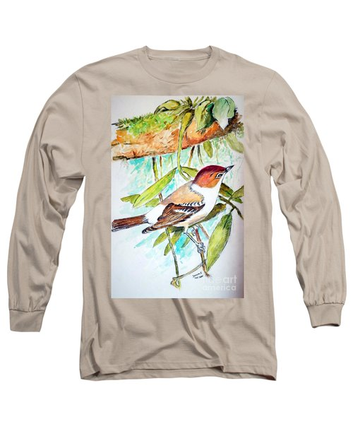 Sunda Flycatcher- Warbler Long Sleeve T-Shirt