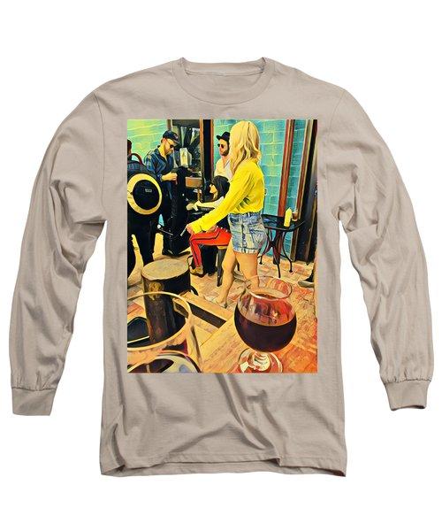 Sunday At Lazarus Long Sleeve T-Shirt