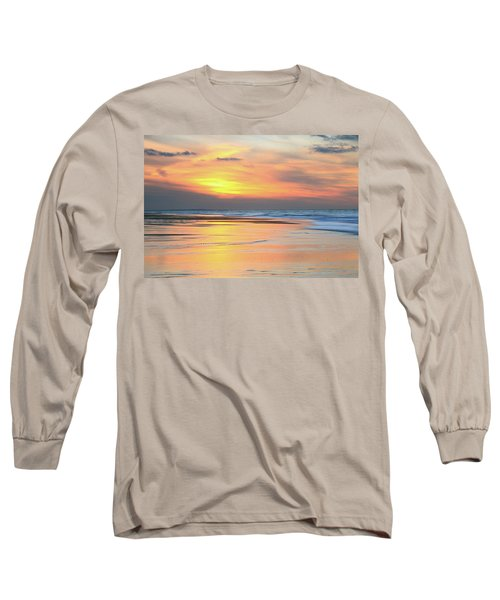 Long Sleeve T-Shirt featuring the photograph Sundown At Race Point Beach by Roupen  Baker