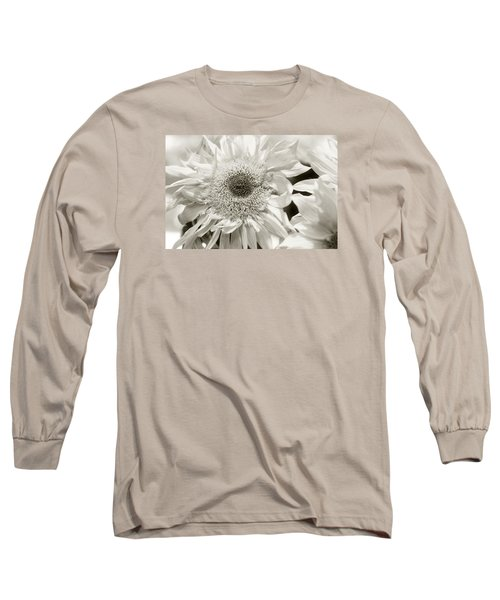 Sunflower 4 Long Sleeve T-Shirt by Simone Ochrym
