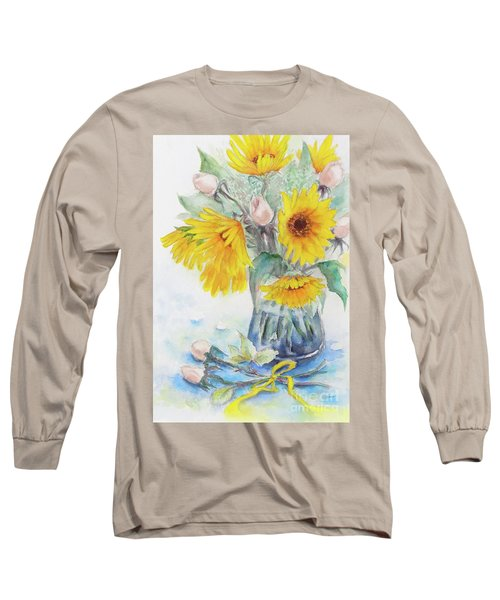 Sunflower-4 Long Sleeve T-Shirt