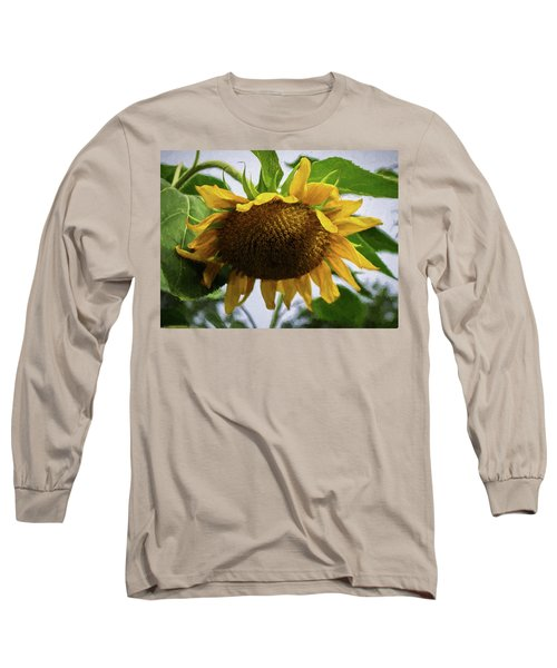 Sunflower Art II Long Sleeve T-Shirt