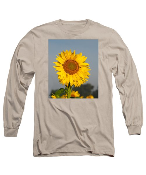 Sunflower At Attention Long Sleeve T-Shirt