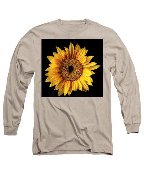 Sunflower Dew Covered Long Sleeve T-Shirt