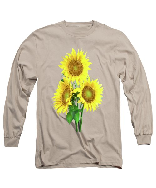 Sunflower Dreaming Long Sleeve T-Shirt