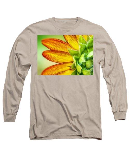 Sunflower Macro 1 Long Sleeve T-Shirt