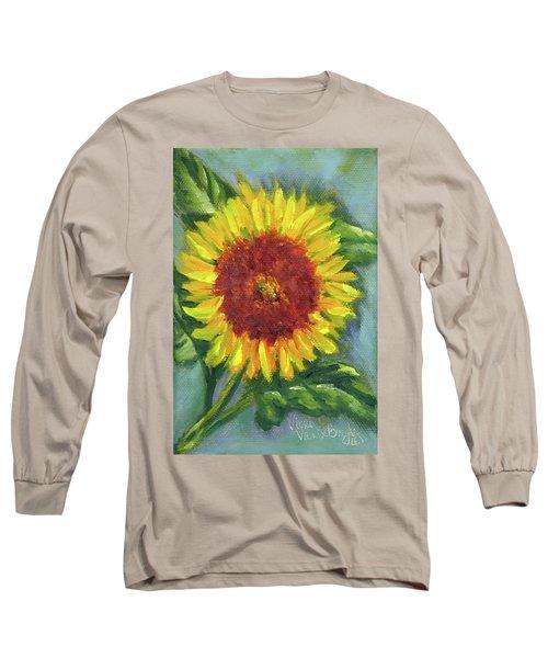 Sunflower Seed Packet Long Sleeve T-Shirt