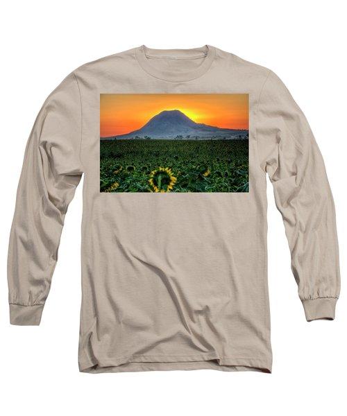 Sunflower Sunrise Long Sleeve T-Shirt