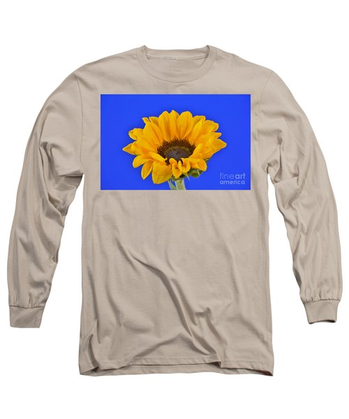 Sunflower Sunshine 406-6 Long Sleeve T-Shirt by Ray Shrewsberry