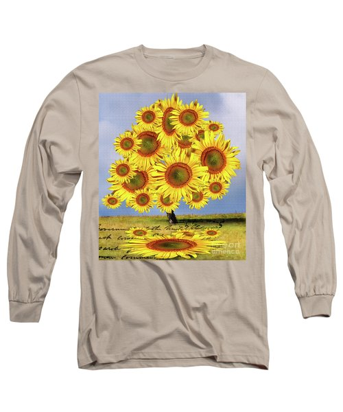 Sunflower Tree Long Sleeve T-Shirt