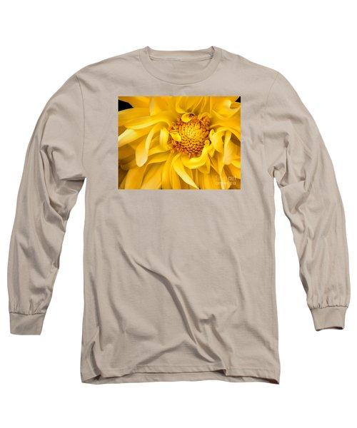 Sunflower Yellow Long Sleeve T-Shirt