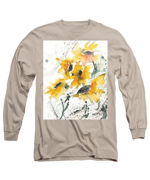 Sunflowers 10 Long Sleeve T-Shirt