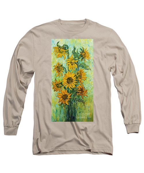 Sunflowers For This Summer Long Sleeve T-Shirt