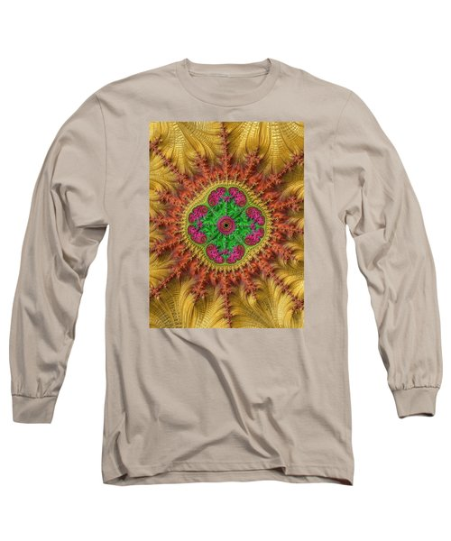 Long Sleeve T-Shirt featuring the photograph Sungold by Ronda Broatch