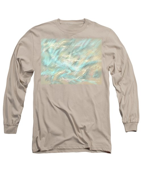 Long Sleeve T-Shirt featuring the digital art Sunlight On Water by Amyla Silverflame
