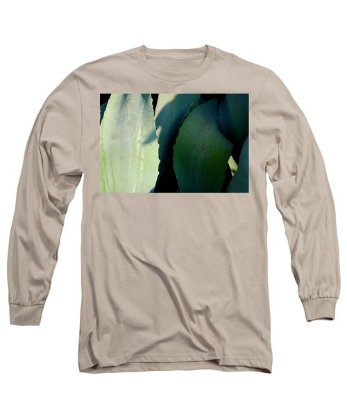 Sunlit Wild Agave  Long Sleeve T-Shirt