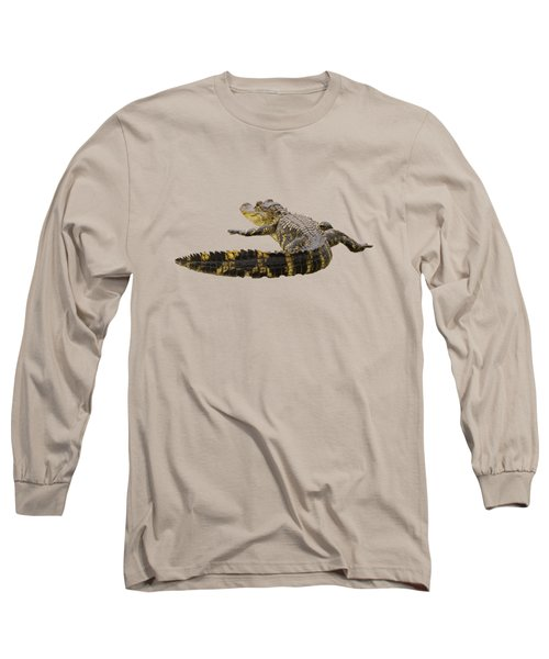 Sunning On The Shore Long Sleeve T-Shirt by Zina Stromberg