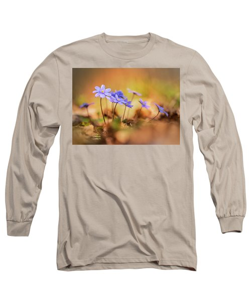 Long Sleeve T-Shirt featuring the photograph Sunny Afternoon With Liverworts by Jaroslaw Blaminsky