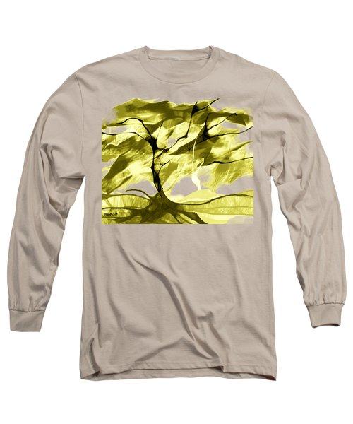 Sunny Day Long Sleeve T-Shirt by Asok Mukhopadhyay