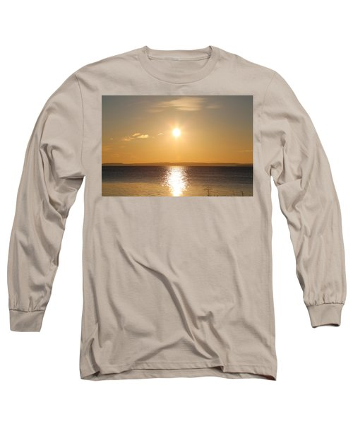 Sunny Day By The Oslo Fjords.  Long Sleeve T-Shirt