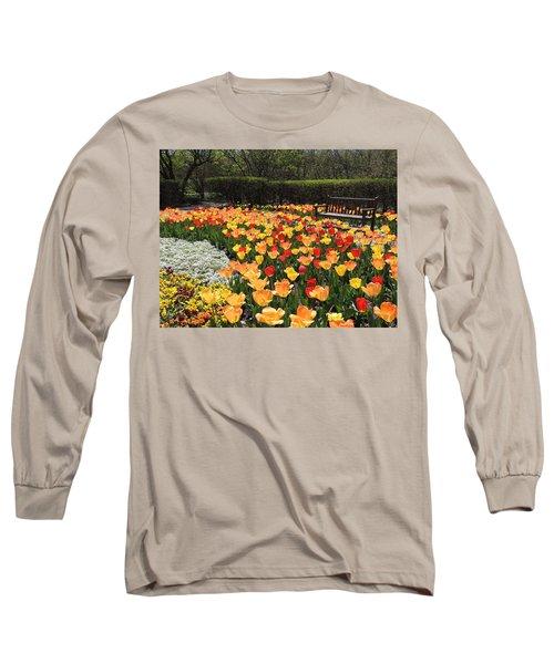 Sunny Days Long Sleeve T-Shirt by Teresa Schomig