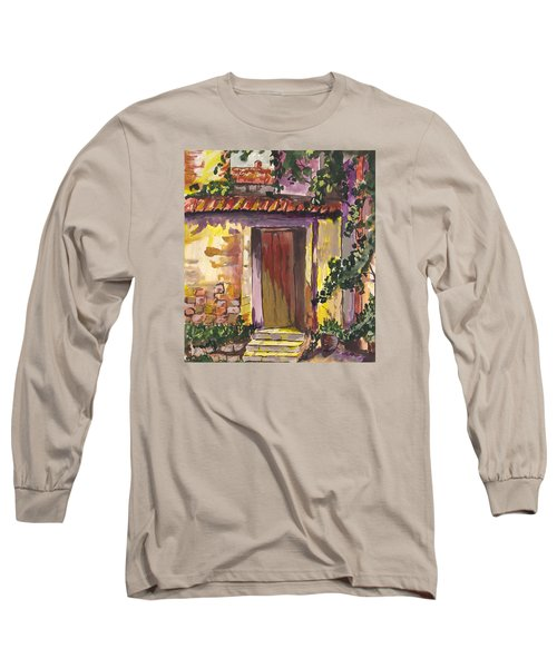 Sunny Doorway Long Sleeve T-Shirt by Darren Cannell