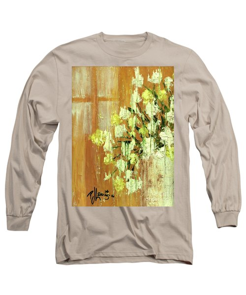Sunny Flowers Long Sleeve T-Shirt by P J Lewis