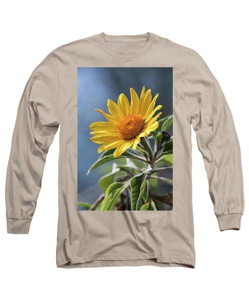 Long Sleeve T-Shirt featuring the photograph Sunny Side Up  by Saija Lehtonen
