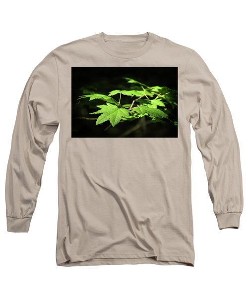 Sunny Summer Maple Long Sleeve T-Shirt