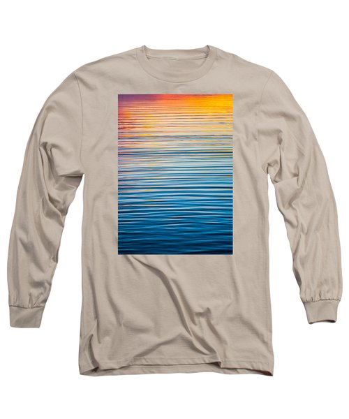 Sunrise Abstract  Long Sleeve T-Shirt by Parker Cunningham