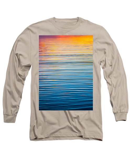 Sunrise Abstract  Long Sleeve T-Shirt