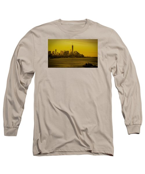 Sunrise Across The Hudson Long Sleeve T-Shirt