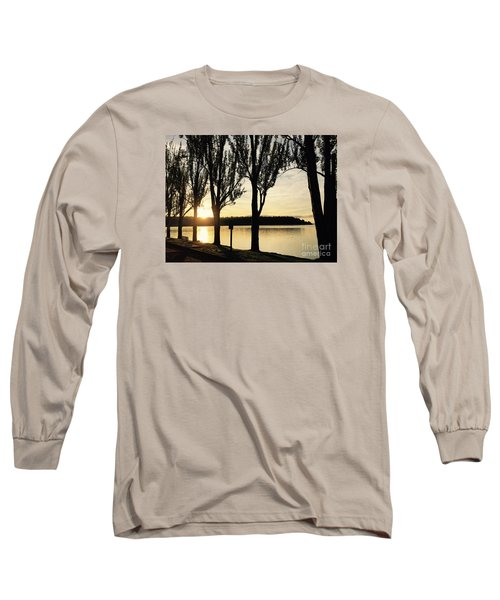 Sunrise And Silhouettes  Long Sleeve T-Shirt