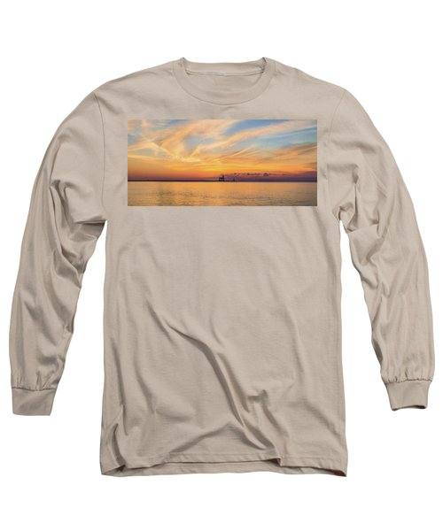 Long Sleeve T-Shirt featuring the photograph Sunrise And Splendor by Bill Pevlor