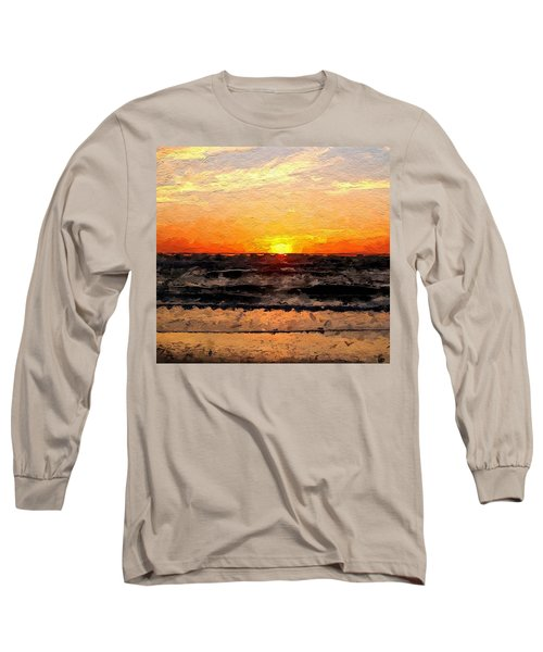 Long Sleeve T-Shirt featuring the digital art Sunrise by Anthony Fishburne