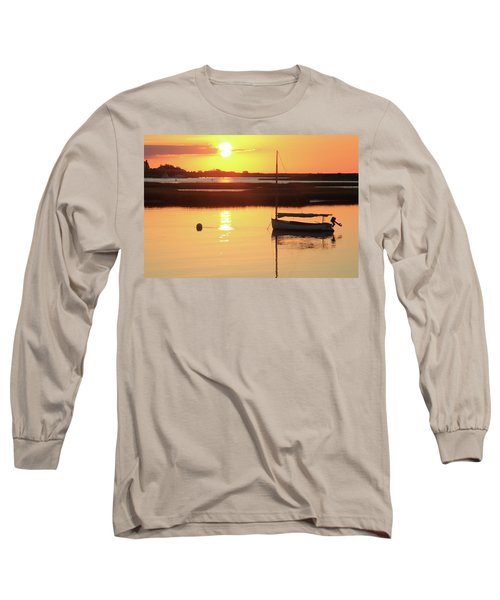 Long Sleeve T-Shirt featuring the photograph Sunrise At Bass River by Roupen  Baker