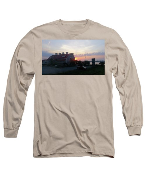 Sunrise At Hooper's Crab House Long Sleeve T-Shirt